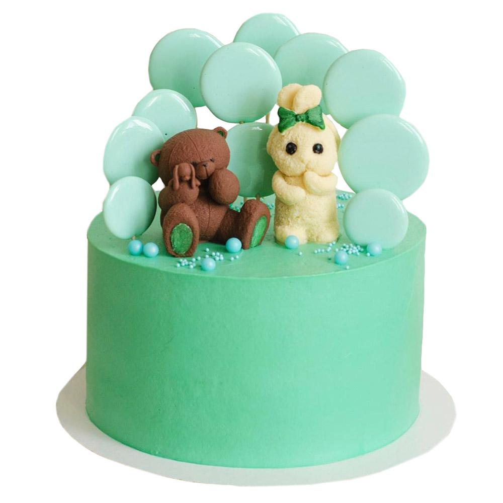 decija torta zivotinje drugari cooliraju na vrhu torte-torte novi sad 3