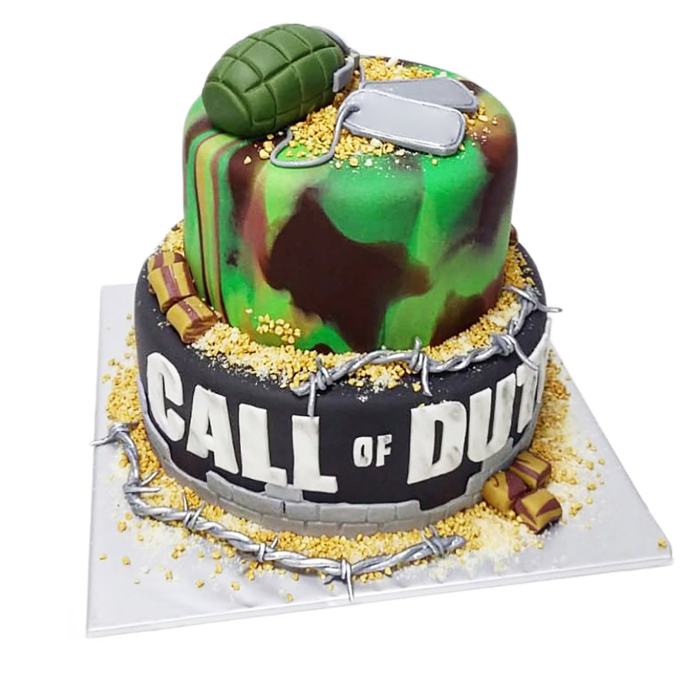 gamerska torta call of duty 3