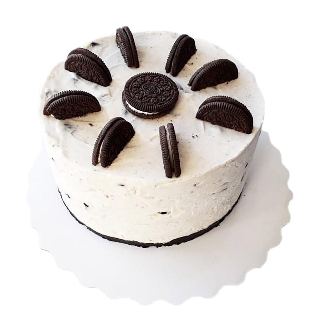 kremasta torta sa oreo kolacicima 3